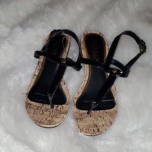 Ralph Lauren Size 7.5 Wedge  Sandals